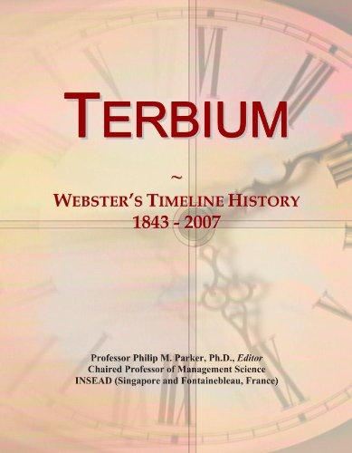 Terbium: Webster's Timeline History, 1843 - 2007