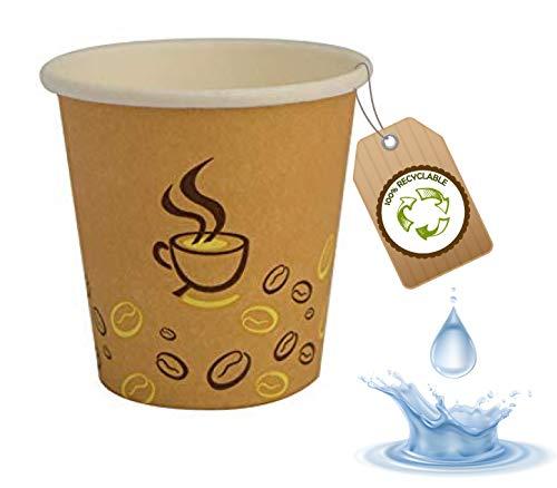 cubex professional 500 vasos de cartón de varios tamaños para café, agua...
