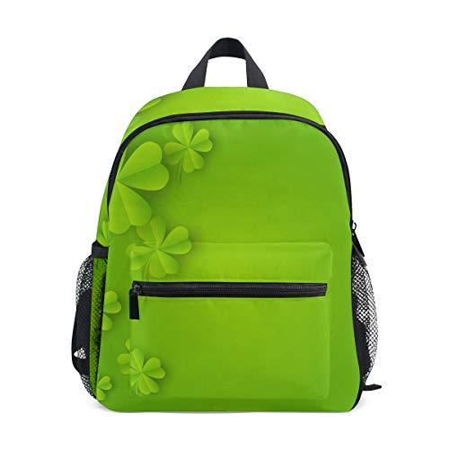 MONTOJ Saint Patrick Jour Sac d'école pour garçons Pliable d'école Sac à Dos