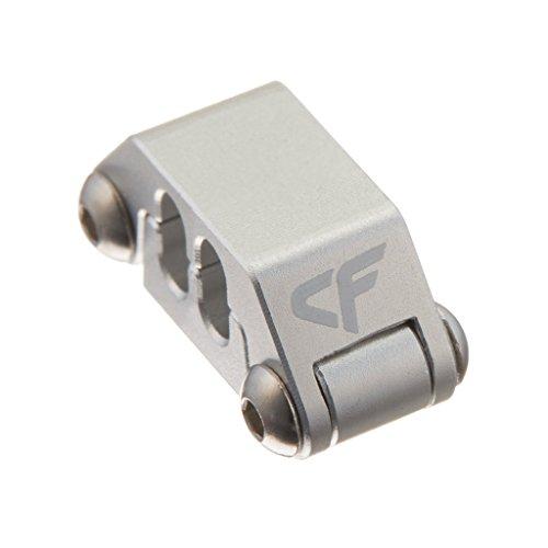 Nanoxia 900500400 Coolforce Kabelclip CC-4, Für Kabel Mit Vier Einzelnd Gesleevten Kabelsträngen, Aluminium
