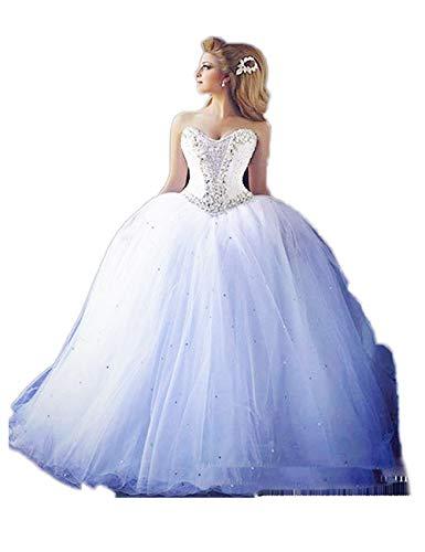 Madedress Schat kristal bolle jurk bruiloftsjurk prinses bruidsjurk jaargang bruiloft jurk bruiloft jurk