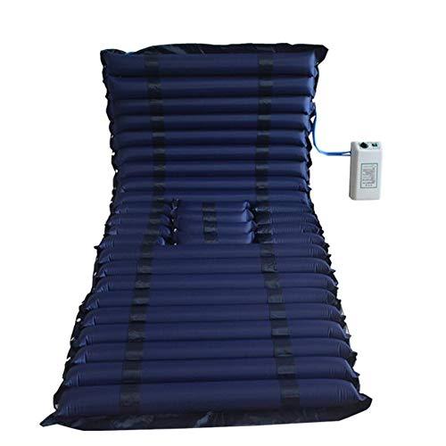 Anti-decubitus luchtbed met pomp - bevat een elektrisch pompsysteem - stil, opblaasbaar luchtdeksel voor decubitus en decubitus behandeling