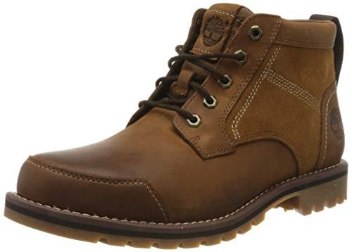 Timberland Larchmont Chukka, Botas Clasicas para Hombre, Marrón (Medium Brown Nubuck), 44.5 EU