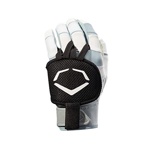 EvoShield Gel-to-Shell Hand Guard, Black - Right-Handed Hitter