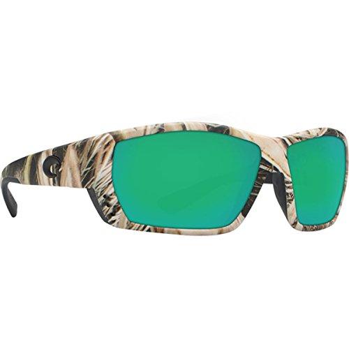 Costa Del Mar Women's Tuna Alley Rectangular Sunglasses Polarized