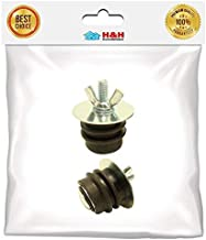 (H&H) New Rubber test plug for 1 1/2-Inch pipe - Easy to install - 1pc