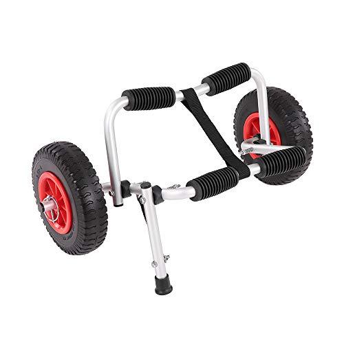 MROSW Universal-Kanu, Kajak & Stand Up Paddle SUP Wagen Transportwagen Mit Aufblasbaren Reifen