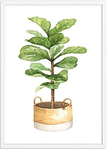 ZhuSen Kaktus grüne Pflanze Poster...