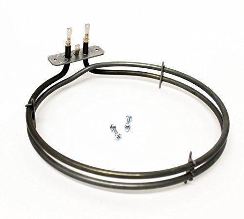 Sparegetti® 2 les pour Samsung Élément de chauffage ventilateur de four 2100 W pour s'adapter au modèle Mx337g