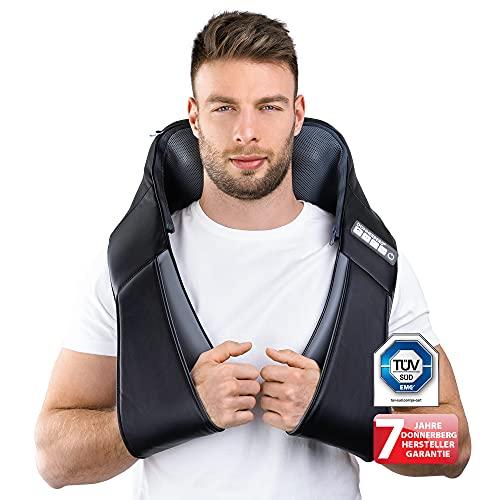 Klopfy Nackenmassagegerät Donnerberg München Rückenmassagegerät für Shiatsu und Klopfmassage 4D - Massagegerät mit Wärmefunktion TÜV Süd 7 Jahre Garantie