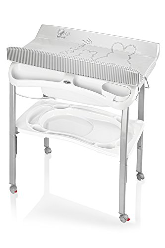 Práctica bañera-cambiador unisex Bianco