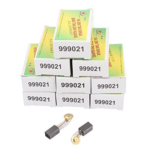 sourcingmap 20 piezas Escobillas de carbón del motor eléctrico 13mm x 7.5mm x 6.5mm genérico
