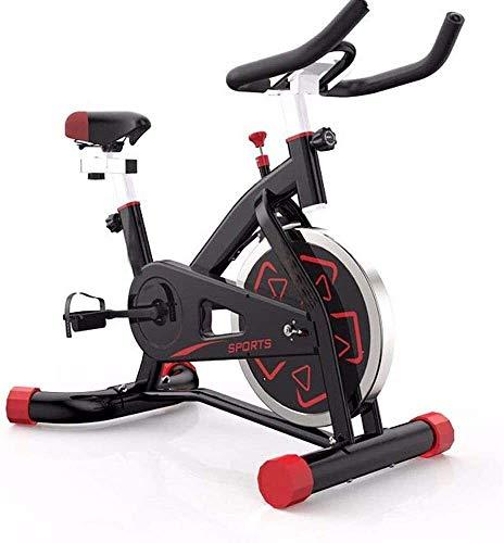 BZLLW Bicicletas estáticas de Spinning, Bicicleta de Ejercicios Ciclismo Indoor Bicicleta estacionaria con Asiento Ajustable y Resistencia, impulsos de monitorización/teléfono del sostenedor de peda