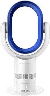 10 pulgadas de 31W poder bladeless fan 2650r/min capacidad eólica 780m3/h con controlador remoto la funcion de temporizacion no hoja ventilador enfriador de aire (blue)