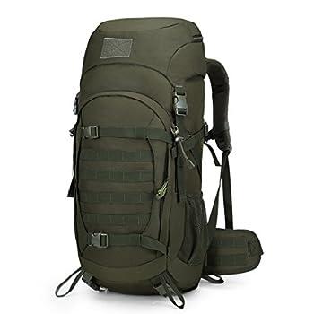 Mardingtop 50L Sac à Dos Militaire Tactique/Sacs à Dos de randonnée/Sac au Dos Trekking Sac au Dos en Plein air Adultes