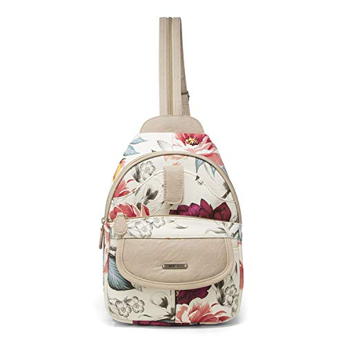 MultiSac Damen Jamie Convertible Backpack Wandelbarer Rucksack, Eve Floral, Einheitsgröße