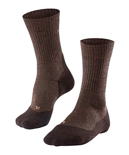 FALKE Herren Wandersocke TK2 Wool M SO, 1 Paar, Braun (Dark Brown 5450), 42-43