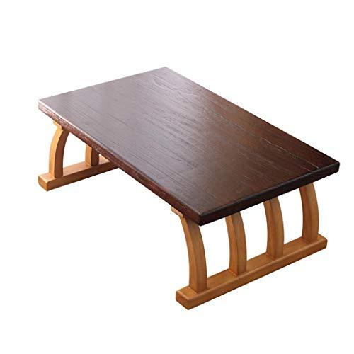 SZQ-Table Basse Table de lit en bois massif, table basse de salon de sofa de table d'appoint de sofa de texture naturelle de balcon de chambre à coucher, 60-80CM Table de sofa (Size : 70 * 45 * 30Cm)