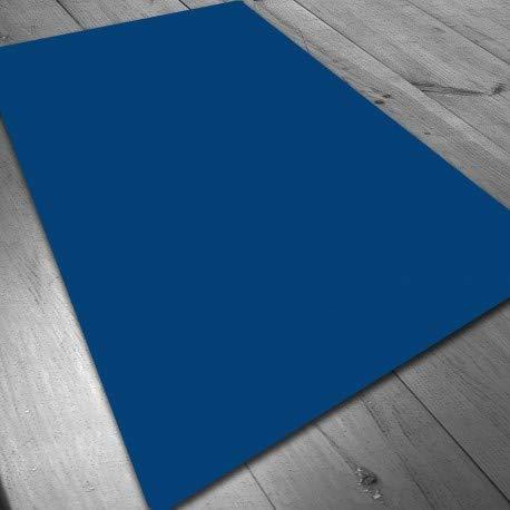 Tapete de Neopreno 140x80 cm - Azul Liso