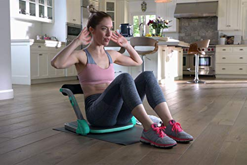 Product Image 2: Core Max 2.0 Smart Abs and Total Body Workout Cardio Home Gym , Teal/Grey