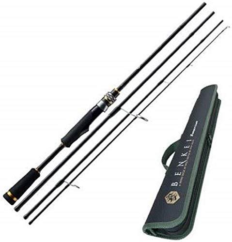 メジャークラフト 釣り竿 スピニングロッド 弁慶 4ピース BIS-644UL