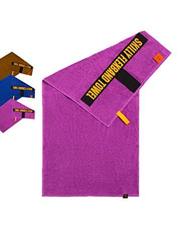 skilly FBT100S Fitnesshandtuch   Antirutschfunktion   100X50cm   Gym Handtuch   Sporthandtuch aus 100% Baumwolle   Damen & Herren