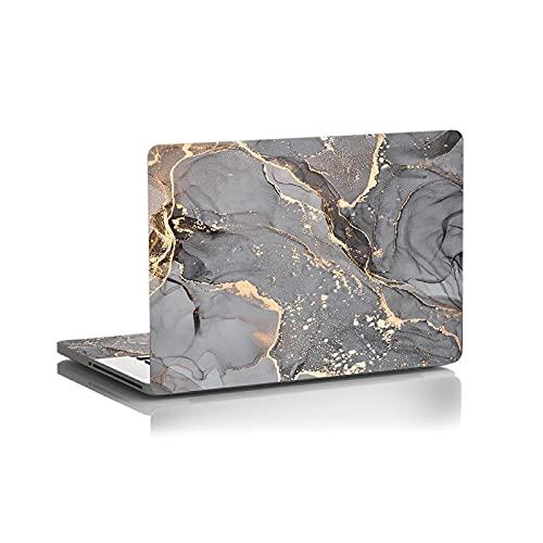 DIY colorido mármol portátil etiqueta de la piel del cuaderno de la cubierta de la etiqueta Skins14 15.6 17 pulgadas para MacBook Air Pro 13/HP/DELl/Lenovo-Ejército verde-personalizado tamaño