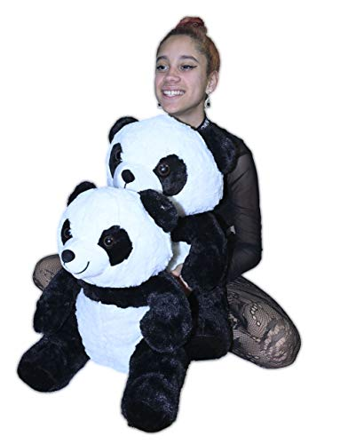 ML Oso de Peluche Panda Grande de 45cm felpas Suaves ( tamaño Grande)
