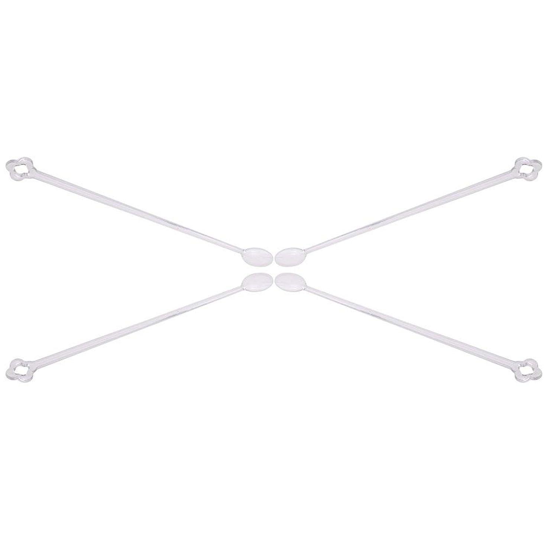 レクリエーション軍隊おばあさん1st market プレミアム マニキュア カラーチャート練習 ネイルチップ 人工スプーン 100個セット 透明 便利