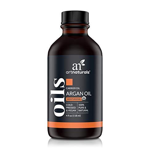 ArtNaturals Kaltgepresstes 100% Reines Arganöl aus Marokko - (4 Fl Oz / 120ml) - Argania Spinosa - Für Strapaziertes und Trockenes Haar sowie zur Hautpflege -...