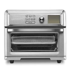 Specially engineered 1800-watt motor, fan and heater deliver high-velocity, high-heat airflow for perfectly fried results with minimal noise 0.6 cu. feet. capacity. Wide range of toaster oven functions: bake, broil, pizza, roast, toast, bagel, reheat...