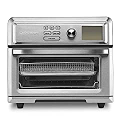 Image of Cuisinart TOA-65 Digital Convection Toaster Oven Airfryer, Silver: Bestviewsreviews