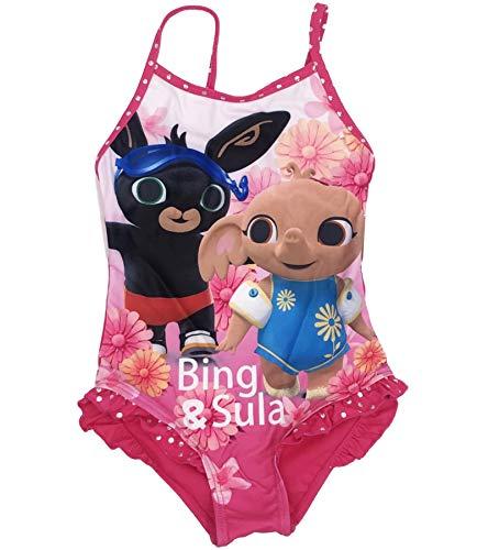 SUN CITY Bing - Costume Mare Bing per Bambina Misure dai 2 ai 6 Anni - 3-Anni - Fuxia