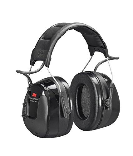 3M PELTOR WorkTunes Pro AM/FM Radio Headset, Black, Headband