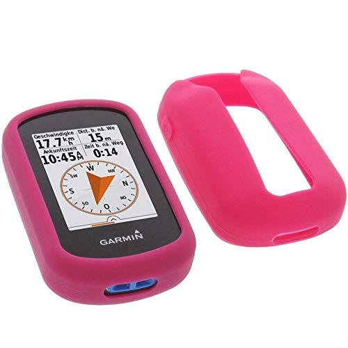 foto-kontor Funda para Garmin eTrex Touch 35 Protectora Silicona Carcasa protección Rosa