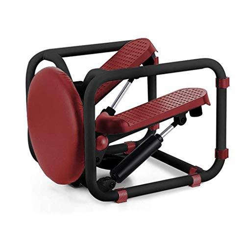 Indoorcycling Bikes Schritt, Home-Klettermaschine,Gewichtsverlustmaschine,Ofenebene,Kleine Übung Fitnessgeräte,LED-Anzeige,Rutschfest,Kraftbeständigkeit,360 Rotation,Falten Zum Einfachen Tragen