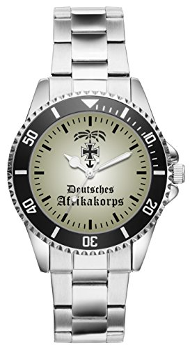 KIESENBERG Uhr - Soldat Geschenk Artikel Deutsches Afrikakorps Rommel Zweiter Weltkrieg 1143