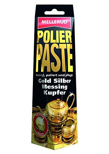 Mellerud 2003203227 - Pasta lucidante per oro, argento, ottone, rame, 150 ml