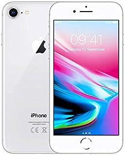 Apple iPhone 8 64 GB, silver, låst (allmän översättning) (Renoverad)