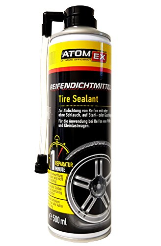 XADO Auto Reifen-Dichtmittel Reifendicht Reifen-Reparatur 1. Hilfe Panne Reifen-Füller - ATOMEX