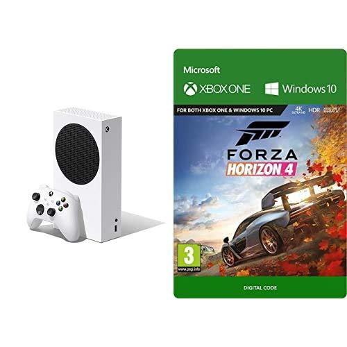 Xbox Series S + Forza Horizon 4 (Xbox Download Code)