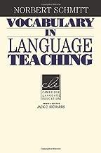 Vocabulary in Language Teaching (Cambridge Language Education)