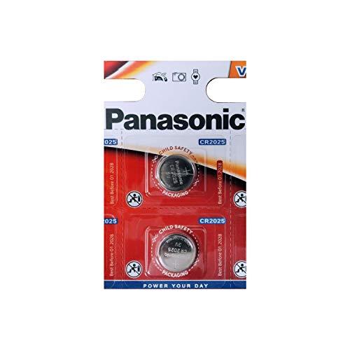 CR2025 Paquete de Batería de Tipo Botón x 2 / Litio 3V / para Los Relojes, Linternas, Llaves del Coche, Calculadoras, Cámaras, etc / iCHOOSE