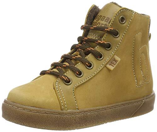 Bisgaard Jungen Elme Hohe Sneaker, Gelb (Khaki 8007), 29 EU
