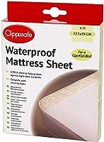 Clippasafe Waterproof Mattress Sheet - Cot