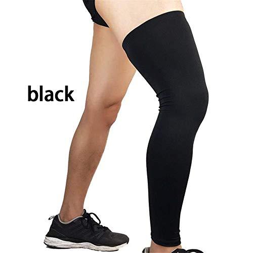 LJXLXY - Running-Beinwärmer für Herren in Black, Größe M
