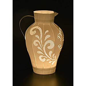 Bembel Licht, Frankfurter Apfelwein Windlicht, Ebbelwoi Teelicht, originelles Geschenk aus Frankfurt