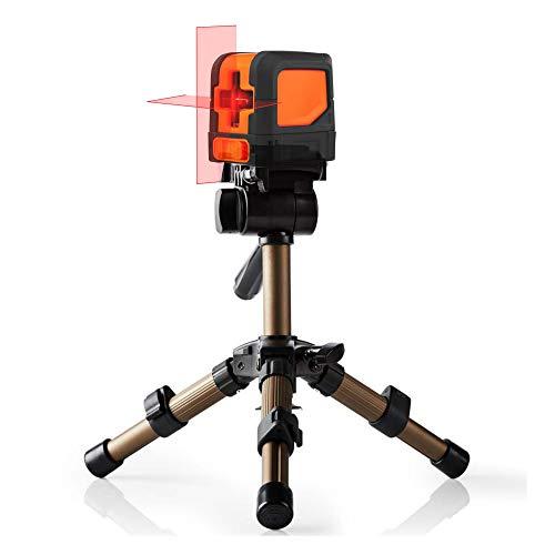 TronicXL TP17 mini tafel statief statief voor lasernivelleerapparaat kruislijnlaser rotatielamer lijnlaser bouwplaatslaser laser bijvoorbeeld voor Einhell Bosch Dewalt Makita Flex Leica Stanley