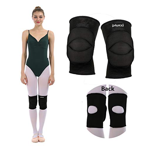 iMucci Professional Protective Knee Pads - 0.78 inch Thick Sponge Non-Slip Sports Dance Kneepad