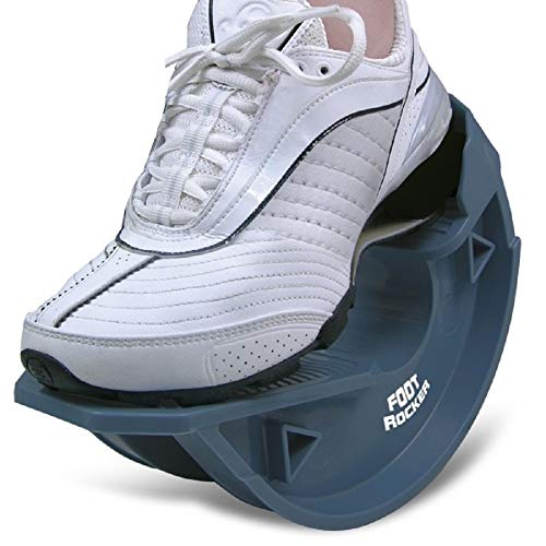 North American Healthcare Foot Rocker Blue -Optimal Foot Position for Flexibility, Plantar Fasciitis, Achilles tendonitis, and other Chronic Conditions